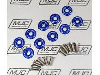MJC Automotive Fender washers 10 piece sets with stainless steel bolts