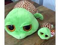TY Beanie Zippy the turtle new with tags soft toy kids baby