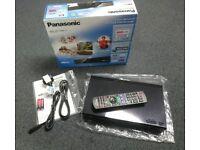 Panasonic Smart Freeview HD recorder 500Gb twin tuner + on demand, netflix etc