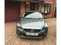 2014 64 Volvo V40 D2 1.6 Diesel Lux Auto Grey Hatchback Cross Country 14400 mileage