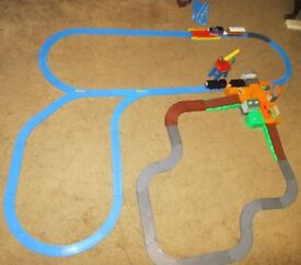 Large Tomy Kids Plastic Train Set - with Trains, Carriages, Rolling Stock, track and accessories