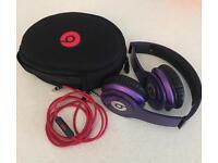 Beats Solo HD Headphones Purple
