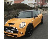 2014(64) Mini Cooper SD Sat Nav Diesel Volcanic Orange Leather Seats Turbo