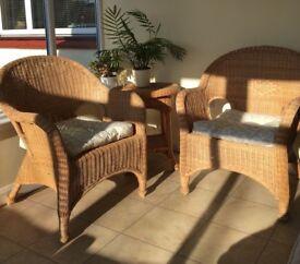 Excellent condition conservatory furniture set