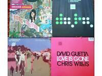 Vinyl assorted dance singles