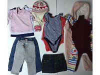 Baby girl clothes bundle 6/9/12 months £12 Ref. 0072