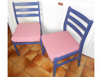 Pair of Kitchen or Dining Chairs