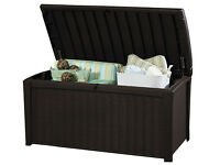 Keter Borneo Outdoor Storage Box (Mocha) **Delivery available**