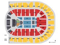 2 LEVEL 1 block 112 Justin Bieber tickets London o2 arena 29th November 2016