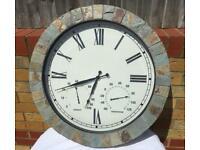 Beautiful large garden clock, New