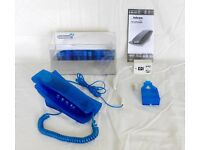 Telcom 285 Blue corded telephone - Like new, Cash on collection