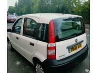 Fiat panda 08reg 1.1 petrol full mot taxed 5door