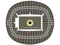 Fantastic Centre stage lower tier Adele tickets 2 July