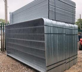 🌤 50 X New Temporary Heras Fencing Panels