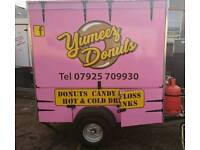 DONUT TRAILER FOR HIRE