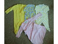 Baby girl sleep bundle 3-6 months