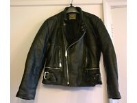 Motorbike jacket, mans, leather