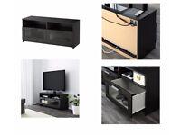 BRAND NEW - BRIMNES TV BENCH BLACK FROM IKEA