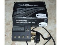Wolsey 2 way Ir pass distribution amplifier