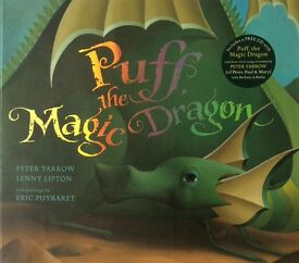 Children's Book - Puff the Magic Dragon (CD included)