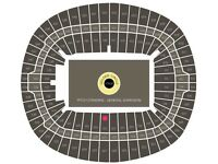 FANTASTIC CENTRE STAGE LOWER TIER SEATS ADELE FINALE SHOW 2 JULY
