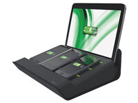 Leitz XL Multicharger for 4 Devices - Black - New in Box