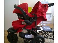 mothercare extreme travel system in re