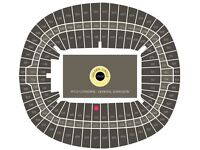 Fantastic seats centre stage block 123 - ADELE Final Show 2 July