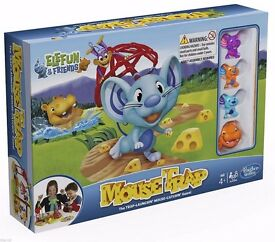 Elefun & Friends Mousetrap Board Game Kids Family Fun Age 4+ New Boxed