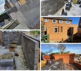 Landscape gardening and all general building work carried