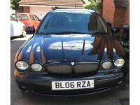 2006 Jaguar 2.2 diesel 6 speed x type estate