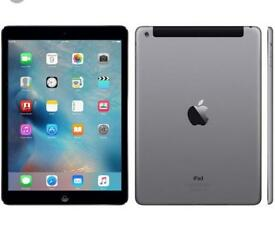 iPad Air 16gb Black space grey and silver white excellent condition Boxed