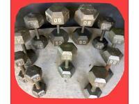 450lbs/205kg Dumbbells Set £380 ONO
