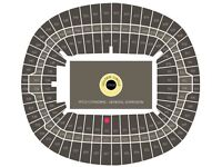 2x ADELE TICKETS - GREAT SEATS CENTRE STAGE BLOCK 123