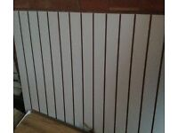 Shop Fittings Slat Wall in good condition