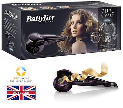 Babyliss CURL SECRET C1050E CERAMIC HAIR STYLER CURLER AUTO Ionic MUST HAVE