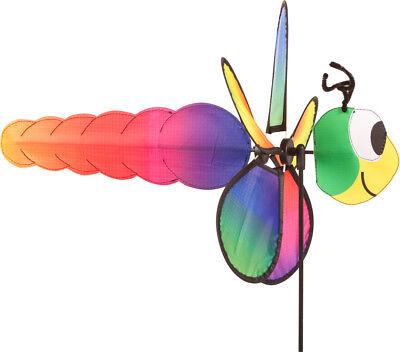 Spin Critter Dragonfly Gartendeko Windfahne Windmühle (Dragonfly Windspiel)