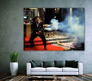 Scarface - AL Pacino - Shoot Gun // Photo Hi Quality Big Poster/ sg01124