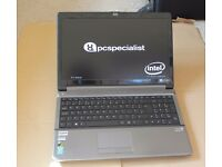 "PC Specialist Gaming Laptop: Nvidia 860M, 15.6"" 1080P, 8GB, Dual Core, SSD (Clevo)"