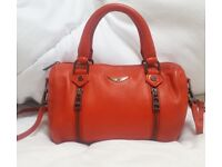 ZADIG & VOLTAIRE XS SUNNY BAG, ROUGE for sale  Longfield, Kent