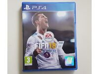 ps4 brand new sealed fifa 18 game