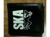 Brand new Ska Two Tone Man wallet, made by Warrior.