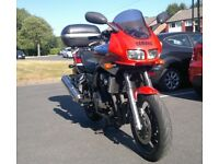 Yamaha Fazer FZS600 commuter workhorse, ready to ride, low mileage, great first bike