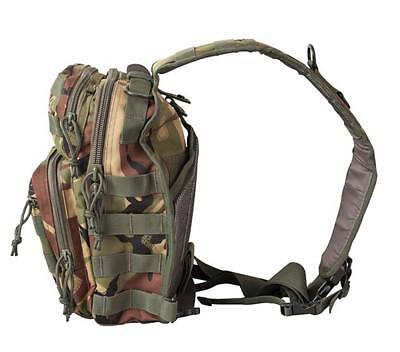 Bolso bandolera viaje camuflaje DPM mochila hombro 10 litros juvenil militar