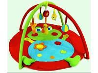Baby music activity playmat