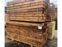 Railway sleepers for sale in Chester, Cheshire | Wood & Timber For