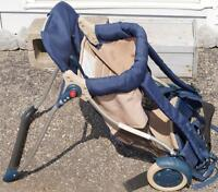 EVENFLO FRESH AIR GEAR PORTE BÉBÉ 3 EN 1 CHAISE ET POUSSETTE