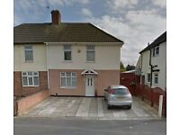 *3 BEDROOM SEMI-DETACHED HOUSE FOR SALE, LEICESTER LE5* GARDEN, AMPLE PARKING, CONSERVATORY, MODERN