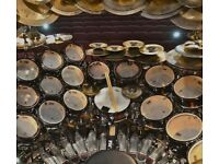 Drummer required for established rock duo. London based