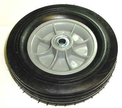 Hand Truck Tire With Offset Hub Semi Pneumatic 10 X 2-34 Wheel With 58 Id